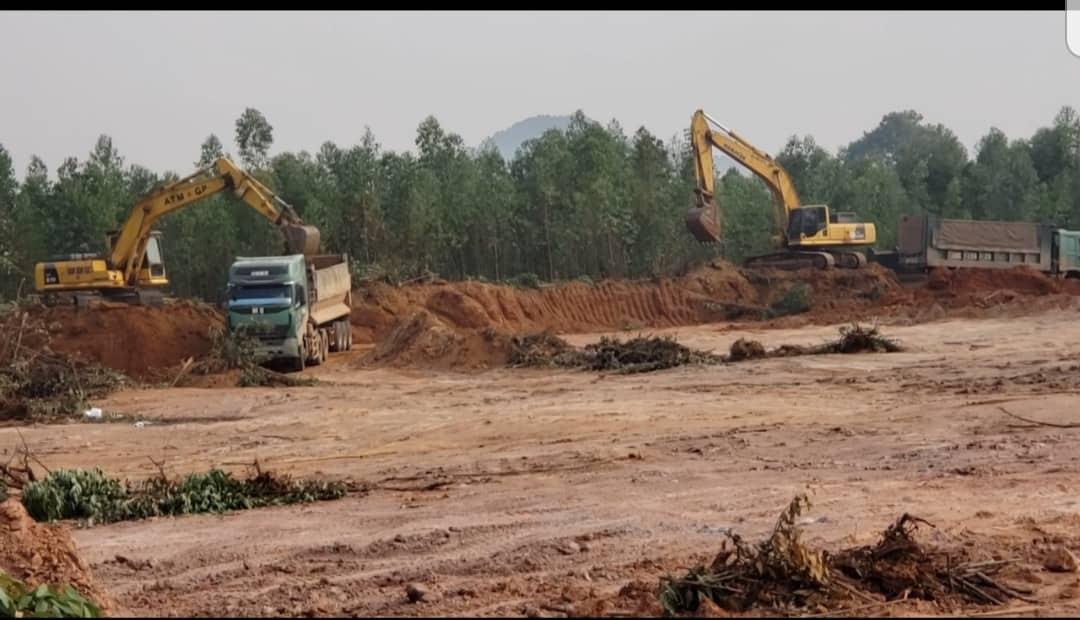 Vĩnh Yên - Vĩnh Phúc: Thực trạng khai thác đất trái phép tại phường Khai Quang - ảnh 1
