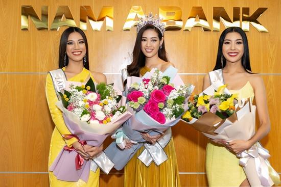 Top 3 Hoa hậu Hoàn vũ Việt Nam 2019 hội ngộ Hoa hậu H