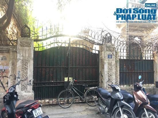 Biệt thự  phố cổ 400m2 cựu chủ tịch Hoàng Văn Nghiên từng ở bỏ hoang giữa Thủ đô - ảnh 1