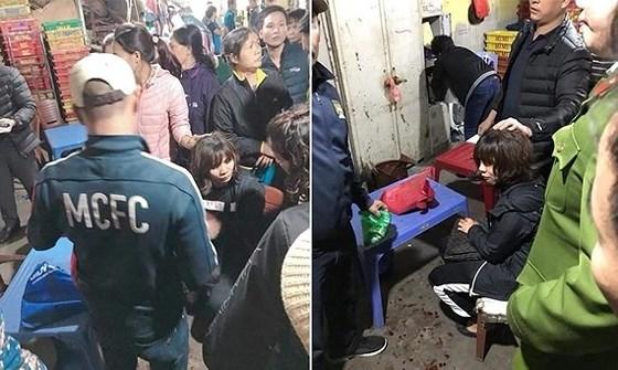 Khởi tố đối tượng nổ súng cướp tài sản tại chợ Long Biên - ảnh 1