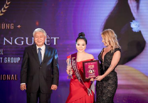 """Lưu Bích Nguyệt: """"Nâng tầm vị thế Nữ lãnh đạo Việt là sứ mệnh của tôi"""" - Ảnh 1"""