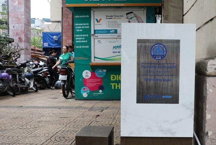 Hà Nội: Người dân hào hứng với trụ nước sạch miễn phí - Ảnh 2