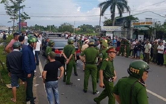 Vụ nhóm giang hồ bao vây xe công an ở Đồng Nai: Tiếp tục điều tra mở rộng - ảnh 1