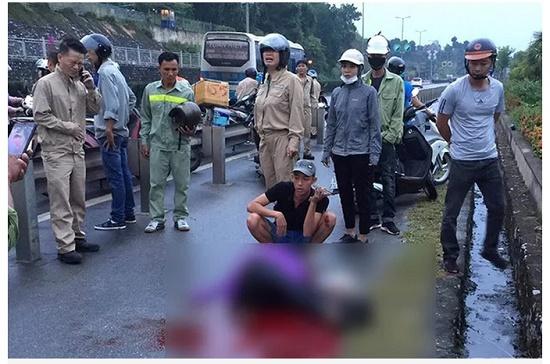 Vụ người phụ nữ bị kẻ lạ mặt đâm trên cầu Bãi Cháy: Nạn nhân đã tử vong - ảnh 1