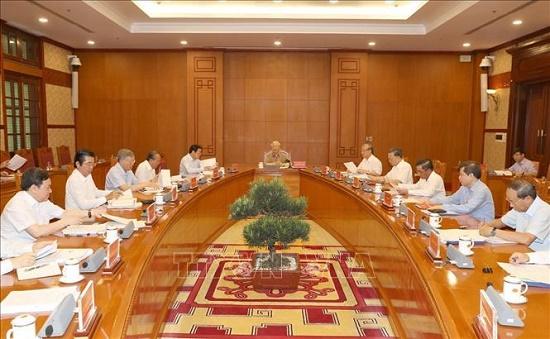 Tổng Bí thư, Chủ tịch nước Nguyễn Phú Trọng chủ trì họp Thường trực Ban Chỉ đạo Trung ương về phòng, chống tham nhũng - ảnh 1