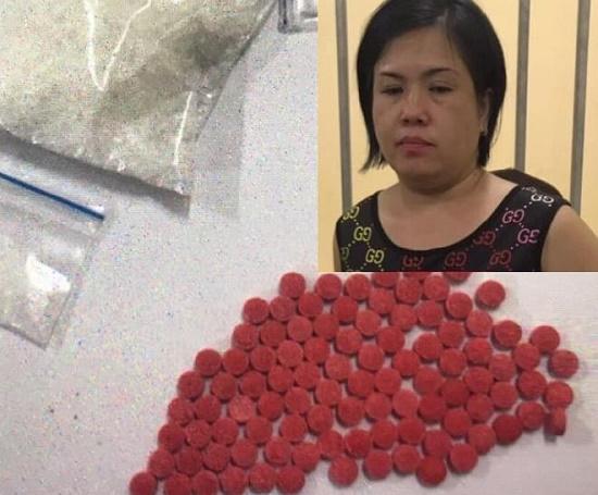 """Bắt quả tang """"nữ quái"""" ở Hà Nội giấu ma túy vào """"chỗ hiểm"""" trên người - ảnh 1"""