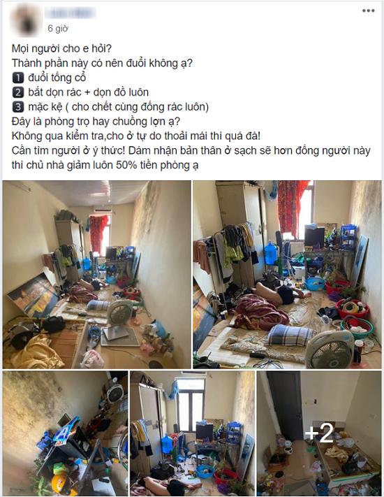 """""""Bóc phốt"""" nữ sinh Hà Nội biến nhà trọ thành bãi rác kinh hoàng, chủ nhà trọ bị """"soi"""" ra điểm bất hợp lý - ảnh 1"""