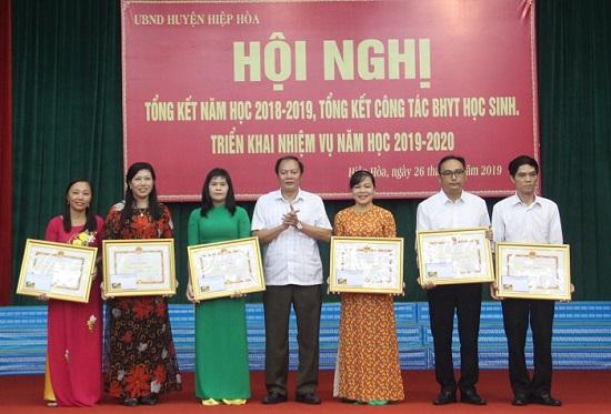 Hiệp Hòa (Bắc Giang) nỗ lực nâng cao chất lượng giáo dục mũi nhọn - ảnh 1