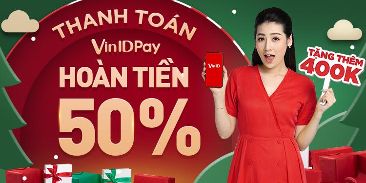 """VinID Pay tung """"bão"""" hoàn tiền cùng ưu đãi lên đến 11 tỷ đồng tháng cuối năm  - ảnh 1"""