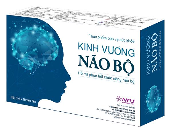 Kinh Vương Não Bộ- Sản phẩm bvsk hỗ trợ phục hồi chức năng não bộ - Ảnh 1