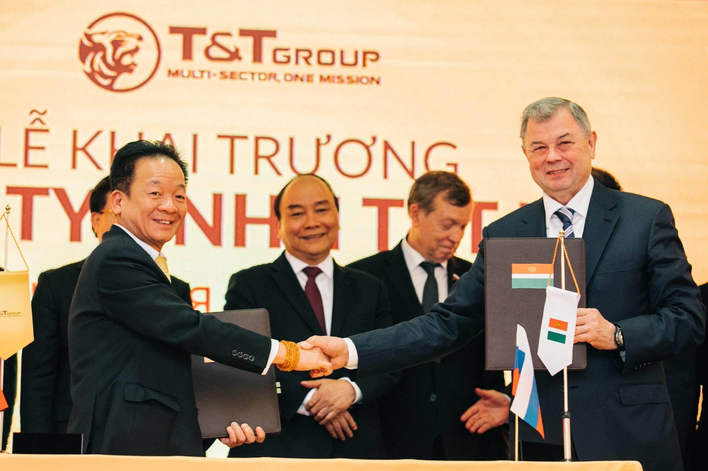 Tập đoàn T&T Group lập công ty con tại Liên Bang Nga  - ảnh 1