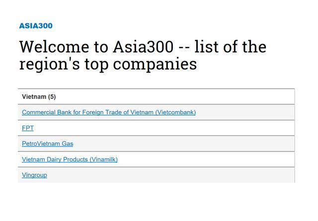 Vietcombank - ngân hàng Việt Nam duy nhất lọt Top 100 doanh nghiệp quyền lực nhất trong bảng xếp hạng của Nikkei  - ảnh 1
