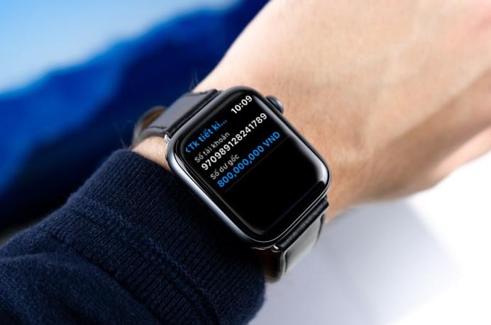 Ứng dụng ngân hàng trên Apple Watch - Bước tiến mới trong cuộc đua phát triển dịch vụ ngân hàng số - ảnh 1