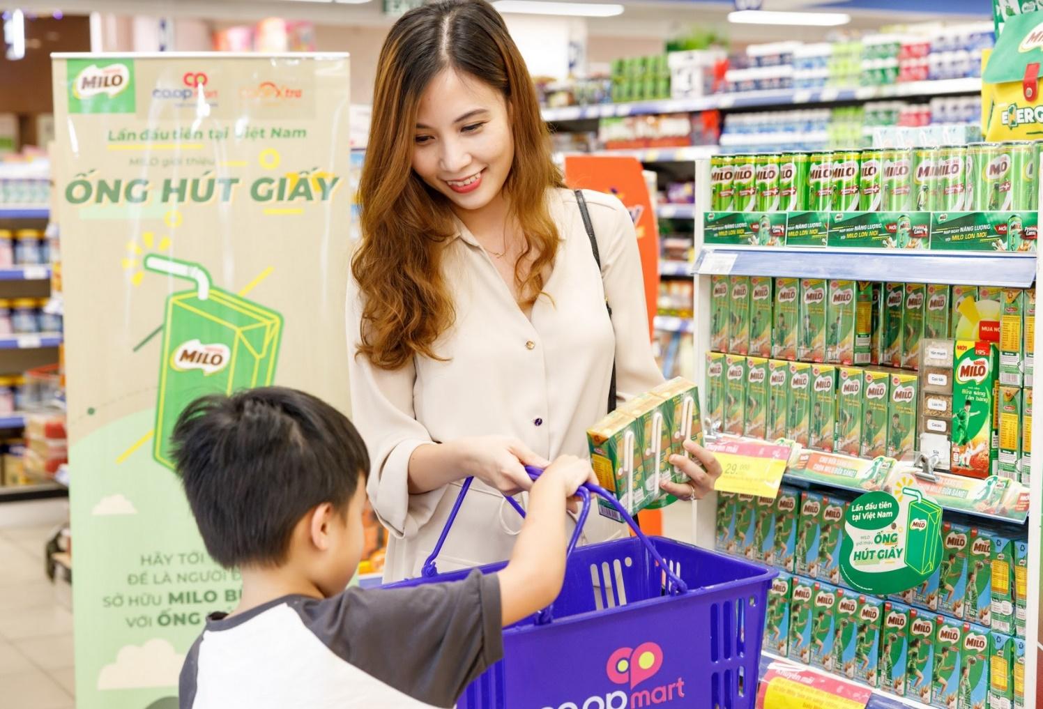 Nestlé Milo tiên phong sử dụng ống hút giấy bảo vệ môi trường  - ảnh 1