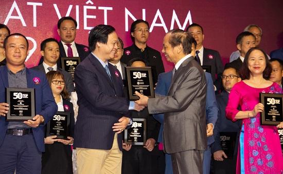 """Phát Đạt đứng thứ 06 trong Bảng xếp hạng """"50 Công ty Kinh doanh Hiệu quả nhất Việt Nam 2019""""  - ảnh 1"""