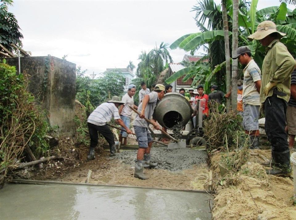 Xây dựng Nông thôn mới ở huyện Duy Xuyên, tỉnh Quảng Nam: Khi người người, nhà nhà đồng sức đồng lòng  - ảnh 1