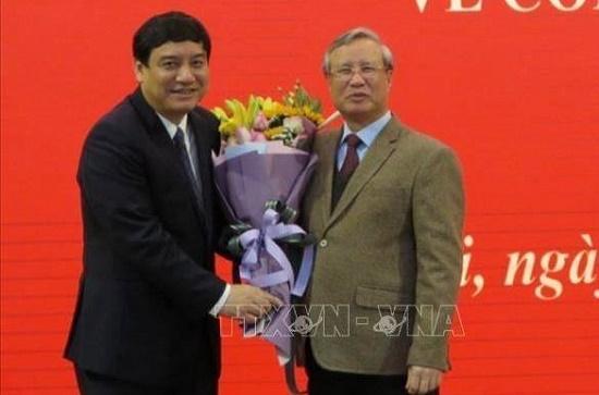 Điều động Bí thư Nghệ An  giữ chức Phó chánh văn phòng Trung ương Đảng - ảnh 1