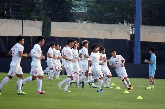Trực tiếp U23 Việt Nam 1 - 2 U23 Triều Tiên: Cánh cửa U23 châu Á chính thức khép lại với U23 Việt Nam - ảnh 1