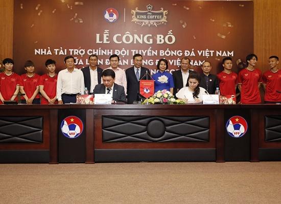 King Coffee của bà Diệp Thảo là nhà tài trợ chính cho đội tuyển quốc gia Việt Nam - ảnh 1