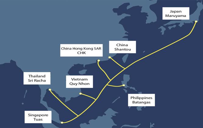 Triển khai tuyến cáp quang biển có dung lượng băng thông gấp 3 lần cáp APG - ảnh 1