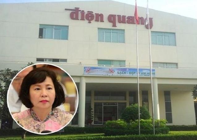 """Tài sản gia đình cựu Thứ trưởng bị truy nã Hồ Thị Kim Thoa """"trồi sụt"""" theo cổ phiếu Điện Quang - ảnh 1"""
