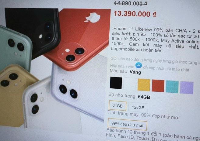 iPhone 11 xách tay giá rẻ tràn về Việt Nam, có nên mua vào thời điểm này? - ảnh 1