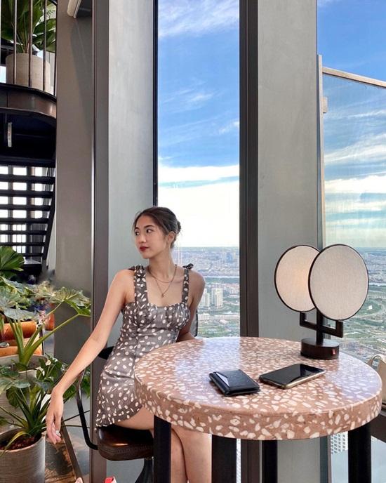 """Cựu học sinh trường Arms thi Hoa hậu Việt Nam 2020: Gây chao đảo bởi nhan sắc """"không phải dạng vừa"""" lại có profile cực khủng - ảnh 1"""
