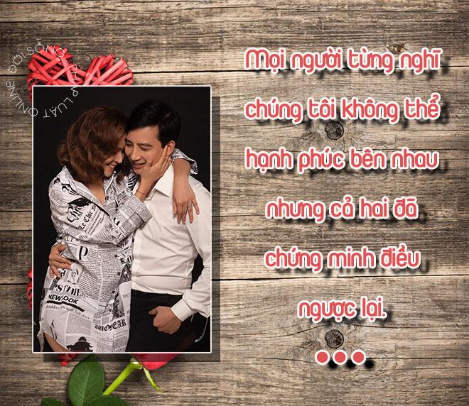 """Cuộc sống hôn nhân đời thực của Nguyệt """"thảo mai"""" và người chồng nhu nhược """"Hoa hồng trên ngực trái"""" - ảnh 1"""