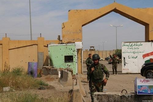 Căn cứ có lực lượng của Mỹ đóng quân tại Iraq lại bị tấn công bằng rocket - ảnh 1