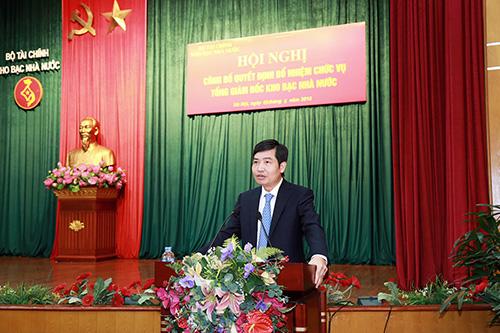 Tổng Giám đốc Kho bạc Nhà nước được bổ nhiệm làm Thứ trưởng bộ Tài chính - ảnh 1