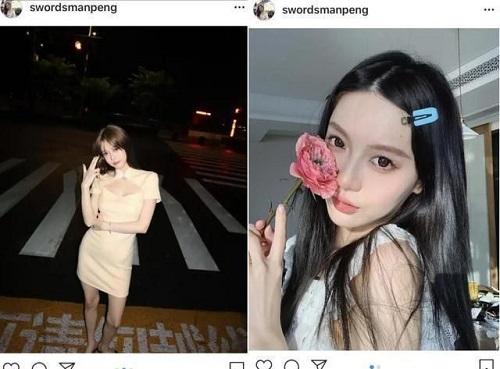 """Hot girl khiến thiếu gia Vương Tư Thông si mê, """"thả tim"""" liên tục suốt 2 năm nhưng không được tương tác - ảnh 1"""