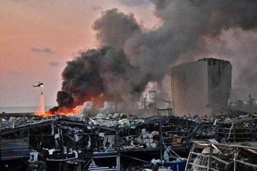Lebanon đối mặt nguy cơ thiếu lương thực sau vụ nổ thảm khốc ở Beirut - ảnh 1