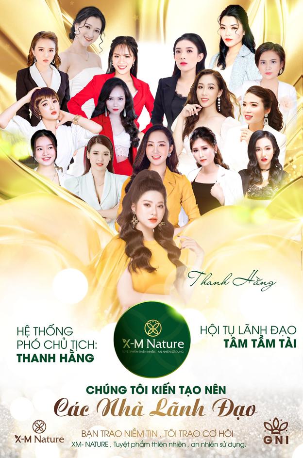 Phó Chủ Tịch Vũ Thị Thanh Hằng–nhà lãnh đạo kiệt xuất của Công Ty TNHH ĐT&PT GNI Việt Nam thương hiệu X-M NATURE - ảnh 1