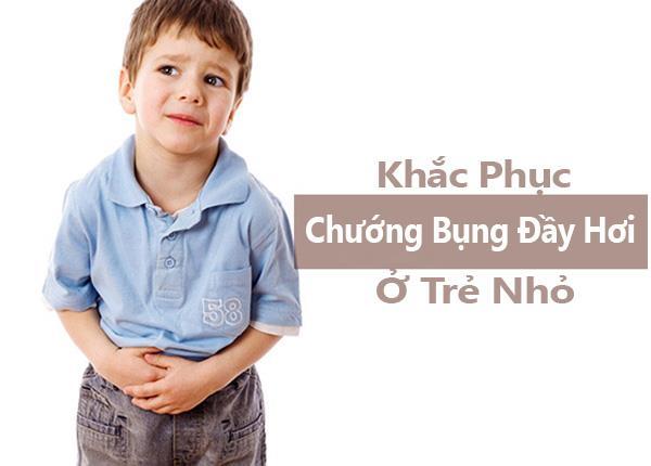 Hướng dẫn cách chữa chướng bụng đầy hơi ở trẻ nhỏ hiệu quả - ảnh 1
