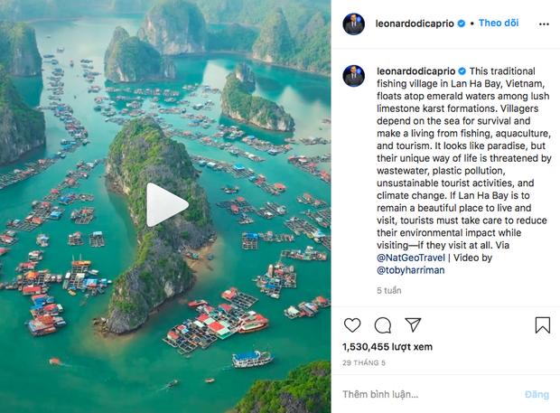"""Hè này hãy du lịch ở vịnh Lan Hạ, nơi tài tử Leonardo DiCaprio """"lăng xê"""" như thiên đường - ảnh 1"""