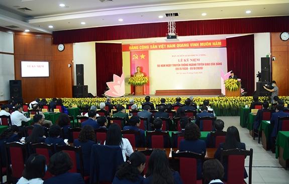 Kỷ niệm 90 năm Ngày truyền thống ngành Tuyên giáo của Đảng - ảnh 1