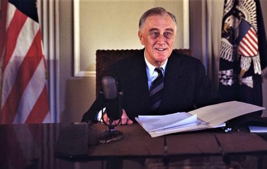 Chân dung người đầu tiên và duy nhất phục vụ 4 nhiệm kỳ tổng thống Mỹ - ảnh 1