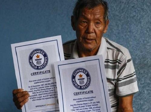 Huyền thoại 10 lần chinh phục đỉnh Everest qua đời ở tuổi 72 - ảnh 1