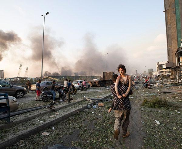 Sức tàn phá của vụ nổ ở Lebanon gây ra địa chấn tương đương trận động đất 3,3 độ richter - ảnh 1
