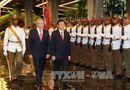 Tin trong nước - Chủ tịch nước Trương Tấn Sang hội đàm với Chủ tịch Cuba Raul Castro