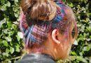 """Cộng đồng mạng - Giới trẻ tiếp tục """"sục sôi"""" với trào lưu nhuộm tóc thành các hình nhiều màu sắc"""