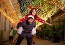 """Giới trẻ - Noel 2014: Hot girl Hoàng Yến Chibi hẹn hò cùng """"bạn trai tin đồn"""""""