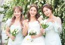 """Dàn sao """"khủng"""" showbiz Hàn dự đám cưới Bada S.E.S và chồng kém 9 tuổi"""
