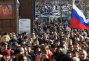 Tin thế giới - Biểu tình chống tham nhũng, hàng trăm người Nga bị bắt