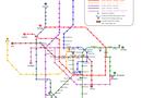 """Tin trong nước - Đường sắt Cát Linh- Hà Đông dừng trưng bày bản đồ """"mượn"""" trên mạng"""