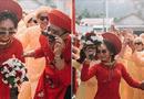 """Cộng đồng mạng - Xuất hiện trong đám cưới, cặp đôi xứ Huế và dàn bê lễ khiến khách mời choáng váng vì """"ngầu"""" và """"lầy lội"""""""