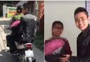 Cộng đồng mạng - Bị CSGT bắt khi đi tặng hoa 20/10 cho vợ, anh chồng nhờ luôn công an chở đi tặng