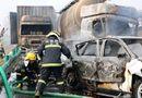 Tin thế giới - Trung Quốc: Tai nạn liên hoàn trên cao tốc, 18 người chết
