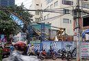 Tin trong nước - Hiện trường vụ sập cần cẩu vào nhà dân tại Đà Nẵng