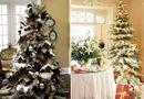 Cách trang trí cây thông Noel cực đẹp đón Giáng sinh 2017